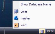 database selector